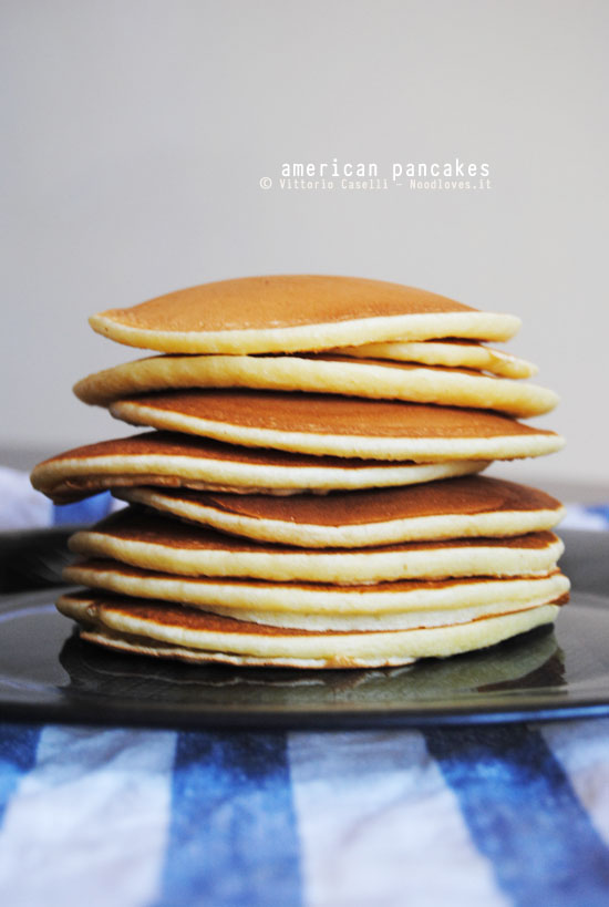 La ricetta originale dei Pancakes americani!