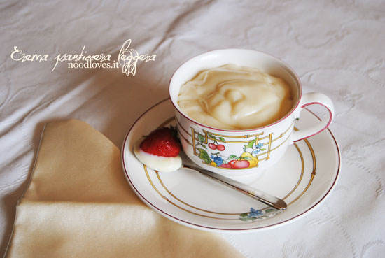 Crema pasticcera leggera 2
