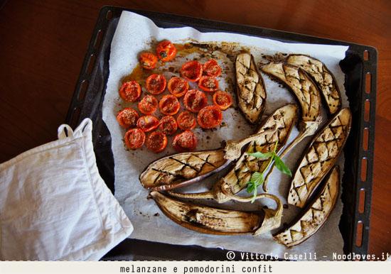 Risotto con polpa di melanzane e pomodorini confit 4
