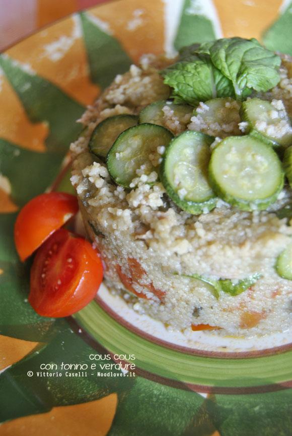 Cous cous con tonno e verdure 3