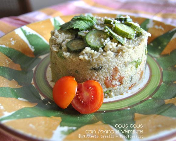 Cous cous con tonno e verdure 4
