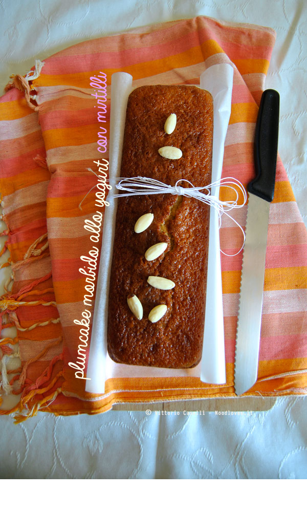 Plumcake allo yogurt e mirtilli 1