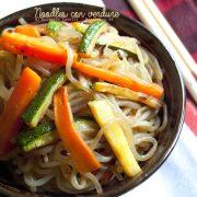 Noodles con verdure: La ricetta cinese, pronta in 15 minuti!