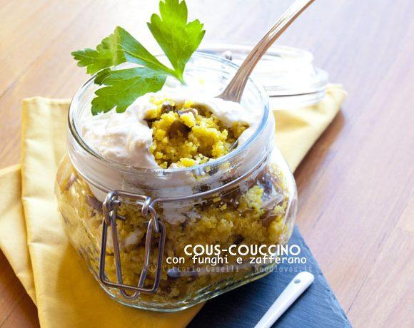 Cous cous con funghi zafferano e ricotta - Le spezie in cucina ...