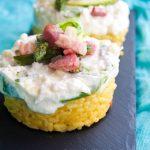 Finta cheesecake salata