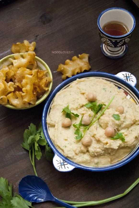 Hummus di ceci con Tahina fatta in casa