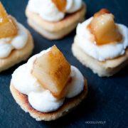 Ricotta e pere: il finger food dolce!