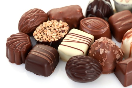 Le Praline al cioccolato (e il pralinato alle nocciole)