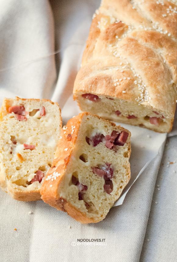 Pan brioche salato senza burro
