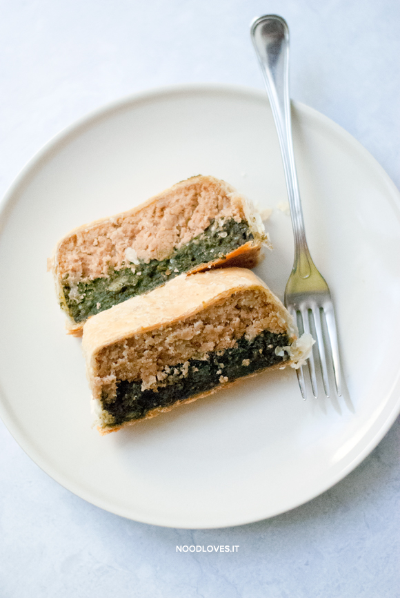 Polpettone di tonno e spinaci, in crosta