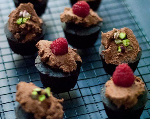 Cupcakes al cioccolato vegan