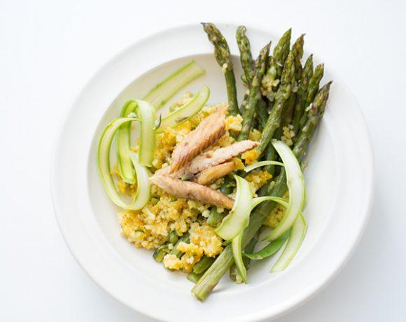 Cous cous agli asparagi