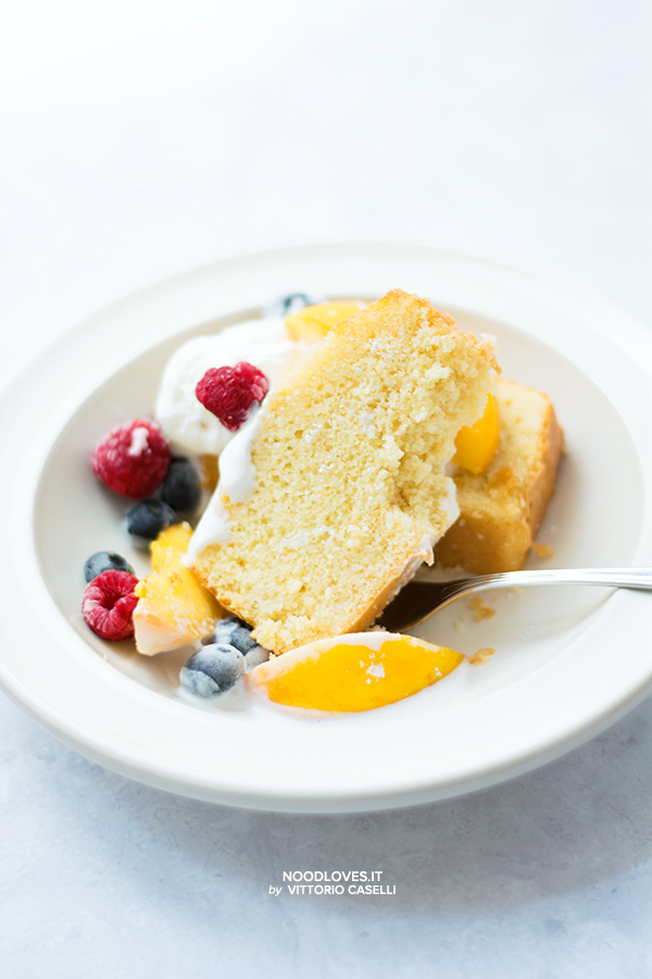 Hot milk Sponge cake …soffice come una nuvola!