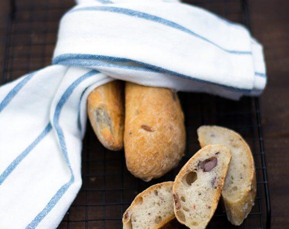 Pane alle olive fatto in casa