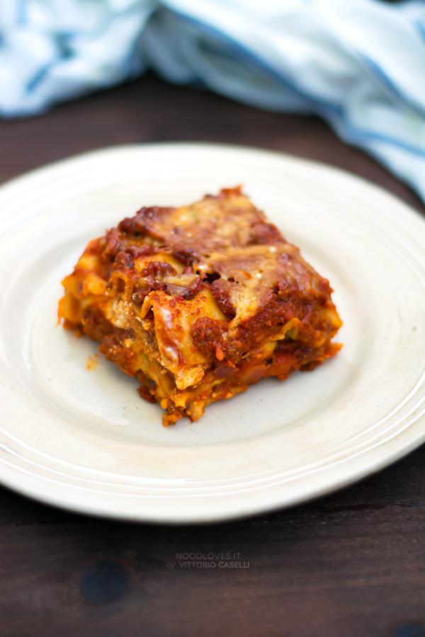 Lasagne alla bolognese al forno