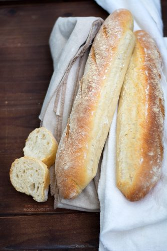 Baguette fatte in casa (con la poolish)