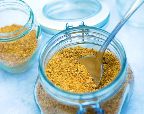 Dado granulare fatto in casa vegetale